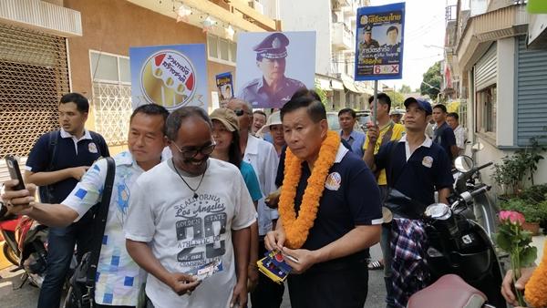 พรรคเสรีรวมไทย นำผู้สมัคร ส.ส. ตะวันออก เปิดเวทีปราศรัยใหญ่ที่จันทบุรี