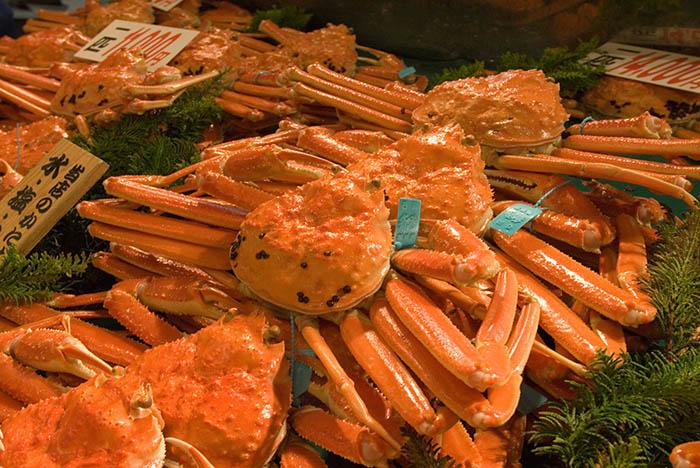 ปูคะโน (Kano Crab) (ภาพ : JNTO)