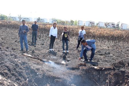 ผู้สมัครสาวพปชร. รุดดูเหตุเพลิงไหม้ ย้ำปัญหาของคนบางเขน คือปัญหาของเรา