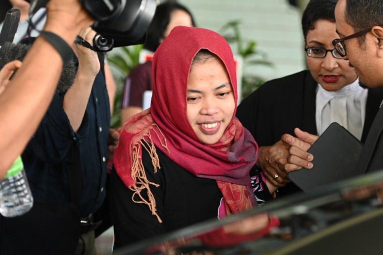 ศาลมาเลเซียยกฟ้อง-ปล่อยตัว 'สาวอิเหนา' ผู้ต้องหาลอบฆ่า 'คิมจองนัม' พี่ชายผู้นำโสมแดง