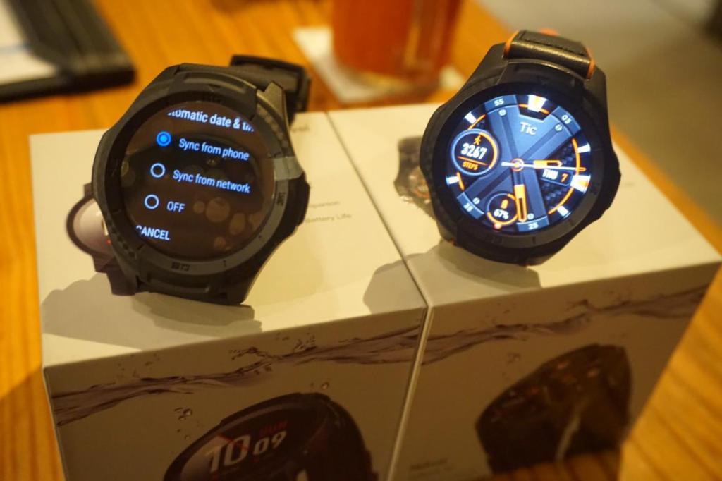 """Ticwatch""สมาร์ทวอทช์บุกไทย เป้าขาย 1.2 หมื่นเรือนปีนี้"