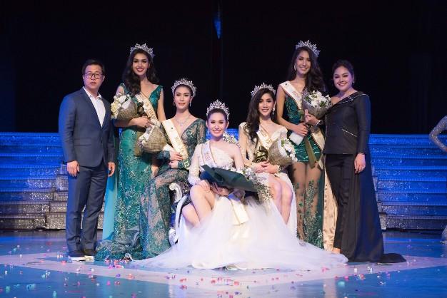 """ประกาศศักดิ์ศรี สาวสอง """"น้องมีน-ศิริประภา สาวรั้วสวนสุนันทา คว้ามงกุฎ   Miss YB Thailand 2019"""