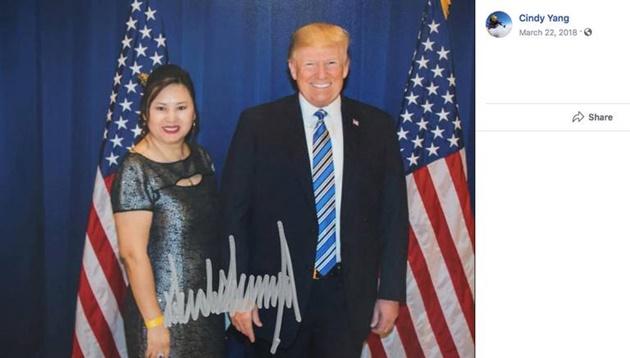 """In Clips: """"หญิงเอเชีย""""อดีตเจ้าของเครือข่ายโรงนวดชื่อฉาว แอบนำ """"กลุ่มชาวจีน"""" ร่วมงานระดมทุนนิวยอร์ก มีถ่ายภาพคู่ทรัมป์"""