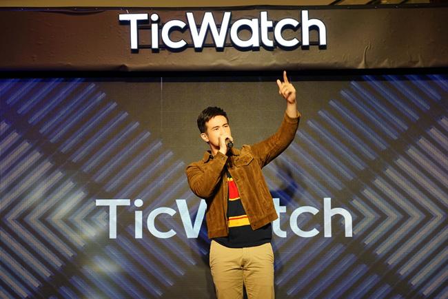 """""""เจมส์ มาร์"""" ร่วมงานเปิดตัว Ticwatch S2 & E3 นำเทรนนาฬิกาสปอร์ตดีไชน์สุดเท่ห์ เอาใจแฟนคลับสุดคูล"""