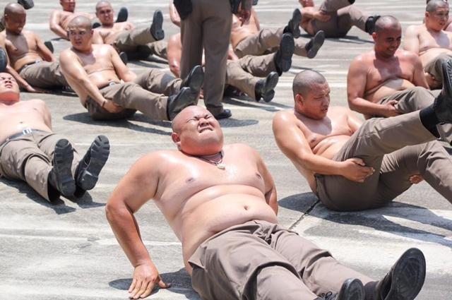 ไม่เฟิร์มไม่เลิก! ยุทธการทลายพุงตำรวจอ้วนแห่งสภ.หนองสาหร่าย เนื่องจากปัญหาสุขภาพ
