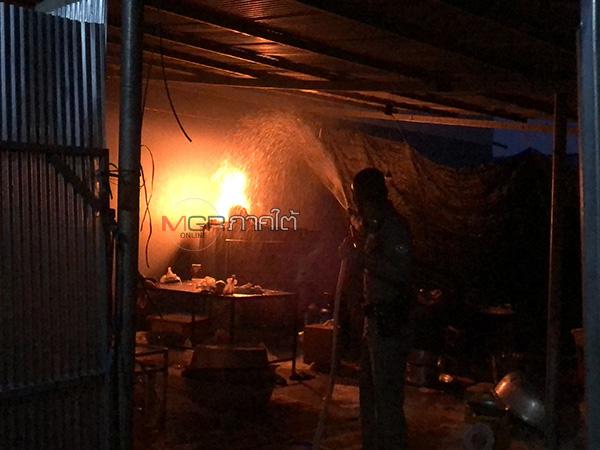 อุทาหรณ์ไฟไหม้ที่เกิดจากความร้อนหลายอย่าง ทำหม้อแปลงร้อนจัดจนไฟลุก