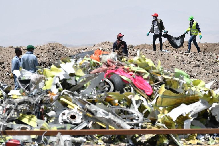 เอธิโอเปียนแอร์ไลน์สส่งกล่องดำ 'โบอิ้ง 737 แม็กซ์' ไปตรวจวิเคราะห์ที่ 'ปารีส'