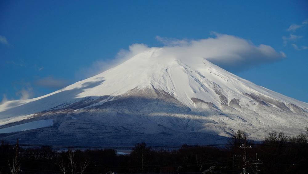 ได้มีโอกาสเห็นภูเขาไฟ ฟูจิ ด้วย