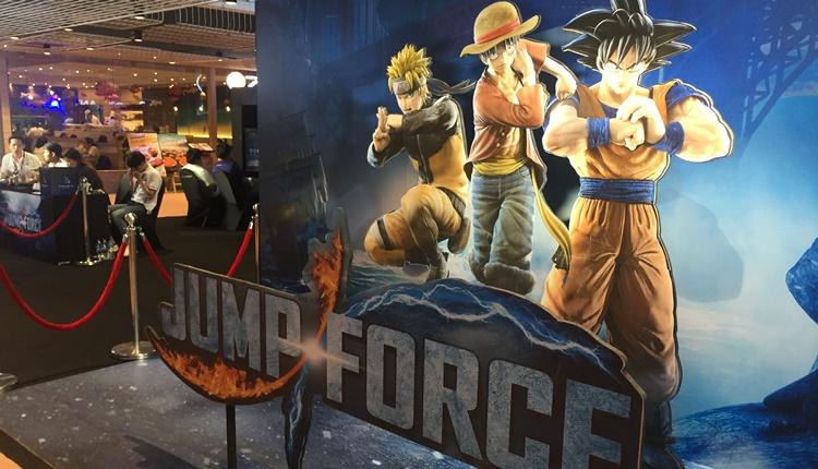 """เริ่มแล้ว! ศึกการแข่งขัน """"Jump Force"""" ท้าชนคนการ์ตูน ณ เซนทรัลเวิลด์"""