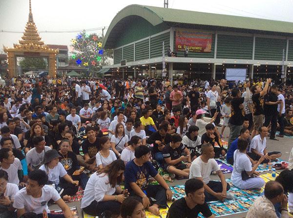 ลูกศิษย์หลวงพ่อเปิ่นจากทั่วสารทิศไทยและต่างชาตินับหมื่นคนแห่ร่วมงานไหว้ครูประจำปี