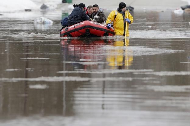 น้ำท่วมสหรัฐฯ