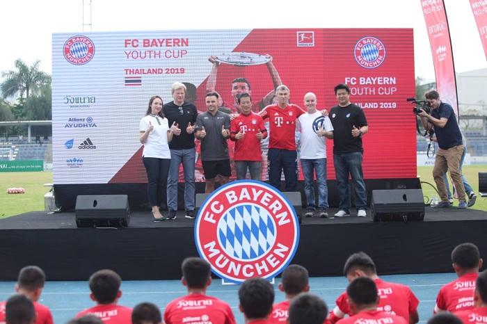 """FC Bayern Youth Cup World Final 2019"" คัดเยาวชนไทย 15 คน ดวลแข้งที่อลิอันซ์  อารีน่า"