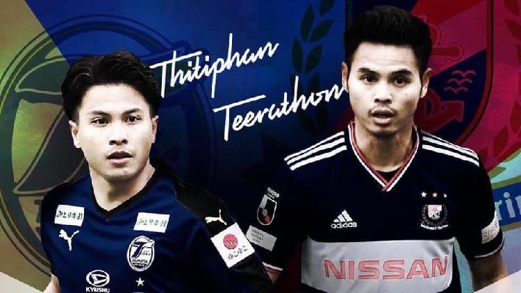"""ยกแรก นิว-อุ้ม! """"โออิตะ"""" เชือดนิ่ม """"โยโกฮาม่า"""" 2-0 / 2 แข้งไทยตัวจริงทั้งคู่"""