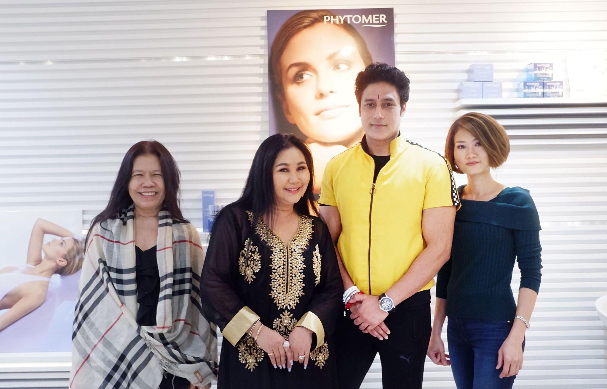 """""""กากัน มาลิค""""  วีไอพี Fleur By PHYTOMER และ Pok Chelsea Bangkok Hair Salon"""
