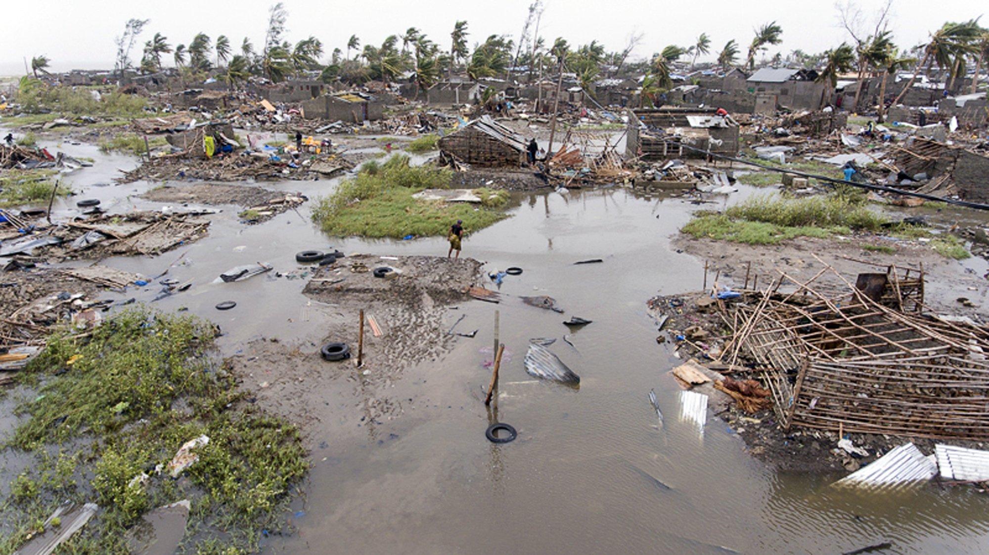 โมซัมบิกหวั่นเหยื่อไซโคลนทะลุ 1,000 ฝนตกต่อเนื่อง-เขื่อนแตกผสมโรงท่วม