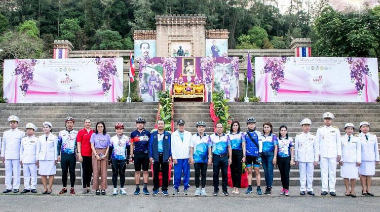 โรงแรมเซ็นทารา หาดใหญ่ ร่วมกิจกรรมปั่นจักรยานหญิง Thai Angel Cycling 2019