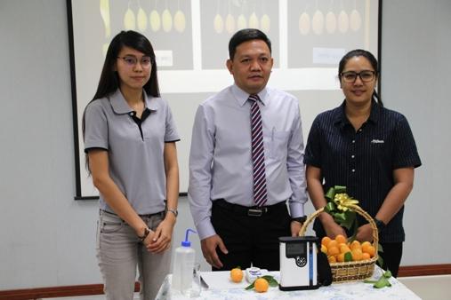 """เจ๋ง!นักวิจัย ม.นเรศวร ทำเครื่องวัดความหวาน""""มะปราง-มะยงชิด""""หนุนส่งออกผลไม้ไทย"""
