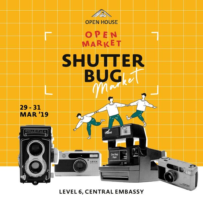 ชวนเดินงาน Shutterbug Market ตลาดนัดสำหรับคนรักกล้องฟิล์ม