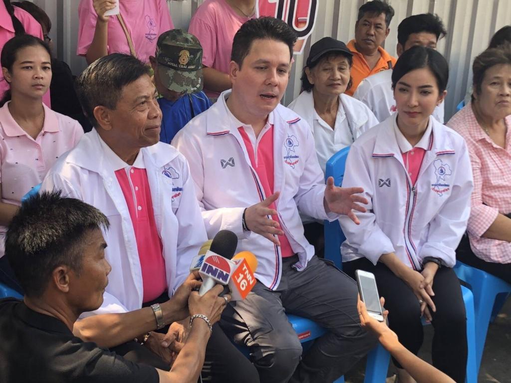 """""""ชาติไทยพัฒนา"""" ห่วงอาชญากรรมพุ่ง ชูนโยบายปราบโจรมัดใจคนกรุง"""