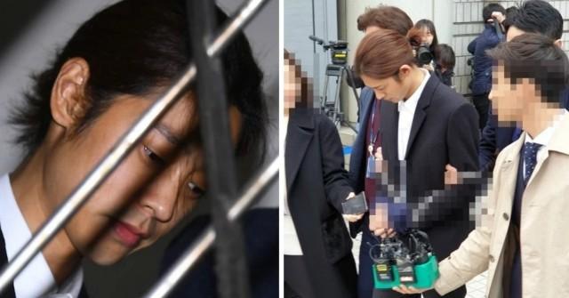 """""""จองจุนยอง"""" โดนควบคุมตัวใส่กุญแจมือ ศาลยืนยันหมายจับ คาดโทษสูงสุดจำคุก 7 ปี"""