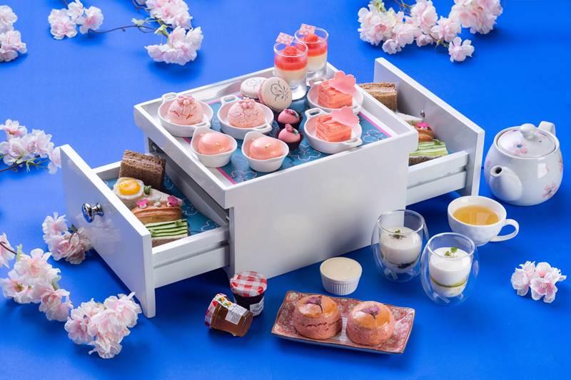 """สัมผัสบรรยากาศช่วงดอกซากุระบาน ด้วยชุดน้ำชา """"ซากุระ"""""""