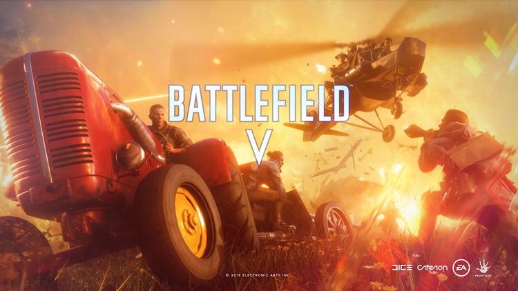 """ชมเกมเพลย์! แบทเทิลรอยัล สังเวียนเพลิง ที่กำลังมาสู่ """"Battlefield V"""" 25 มี.ค."""