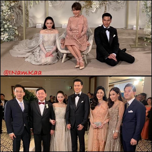 งานฉลองงานแต่งงานของ น.ส.แพทองธาร ชินวัตร ที่โรงแรมโรสวู้ด ฮ่องกง
