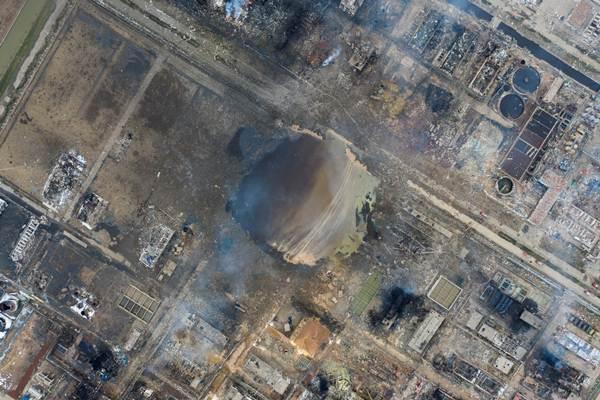 ยอดเสียชีวิตจากเหตุระเบิดที่รง.เคมีในจีน อย่างน้อย 64  ราย บาดเจ็บนับร้อย