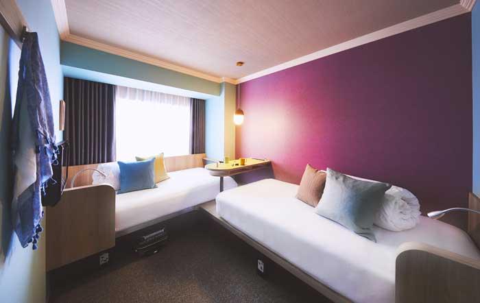ห้องพักของโรงแรมHoshino Resorts OMO7 Asahikawa (ภาพจาก https://omo-hotels.com/asahikawa/en/)