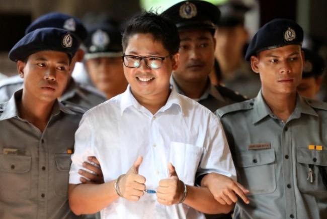 ศาลฎีกาพม่าพิจารณาคำอุทธรณ์ 2 นักข่าวคดีเอกสารลับทางการ