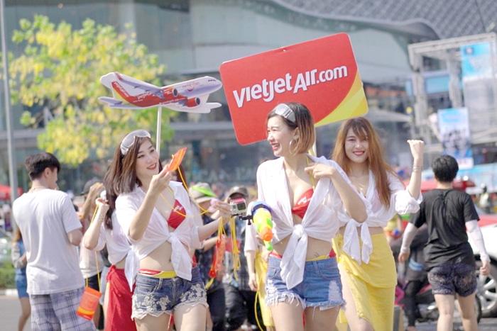 """ไทยเวียตเจ็ทเพิ่มเที่ยวบินรับสงกรานต์ พร้อมโปรฯ """"บินเหนือเมฆ""""เริ่มต้น 479 บาท"""