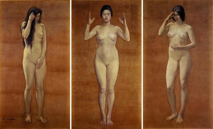 """ยลศิลป์ยินญี่ปุ่น : """"สามหญิงเปลือย"""" ของ เซกิ คูโรดะ"""
