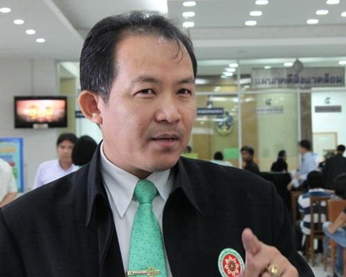 นายศรีสุวรรณ จรรยา เลขาธิการสมาคมองค์กรพิทักษ์รัฐธรรมนูญไทย