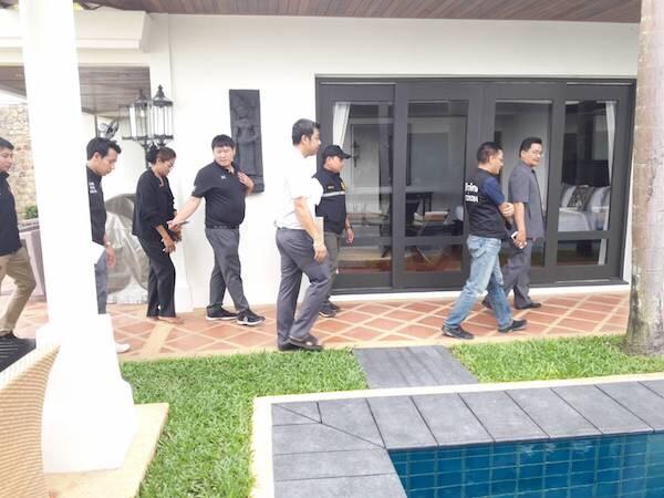 ชุดเฉพาะกิจกรมการปกครองบุกจับต่างชาติ เปิดโรงแรมเถื่อนบนเกาะสมุย