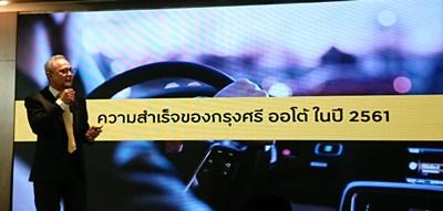 กรุงศรี ออโต้ตั้งเป้าสินเชื่อโต3%รับยอดขายรถแผ่ว-เร่งสร้างECOSYSTEM