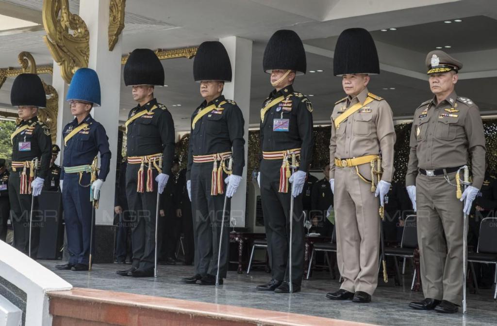 ผบ.เหล่าทัพ เผย การฝึกซ้อมริ้วขบวนฯในพระราชพิธีบรมราชาภิเษก เรียบร้อยดี
