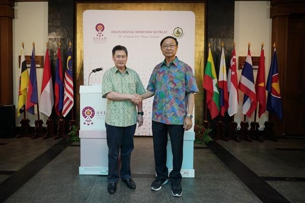 """กระทรวงดิจิทัลใช้เวที """"ASEAN Digital Ministers' Retreat"""" หารือ 5 ความท้าทาย ดันอาเซียนสู่เศรษฐกิจดิจิทัล"""