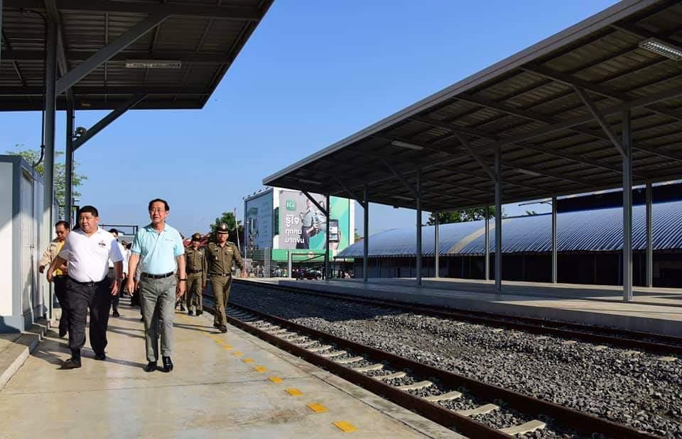 """เกือบเสร็จแล้ว! สถานีคลองลึก เตรียมเปิดรถไฟเชื่อม""""อรัญฯ - ปอยเปต"""""""