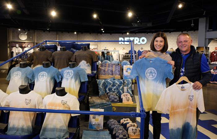 """ดัน """"ผ้าทอตีนจก"""" ภูมิปัญญาชาวเหนือขึ้นชั้นอินเตอร์ """"คิง เพาเวอร์"""" อวดโฉม 'Thai Natural Dye Collection' คอลเลคชันใหม่ """"เลสเตอร์ ซิตี้"""""""