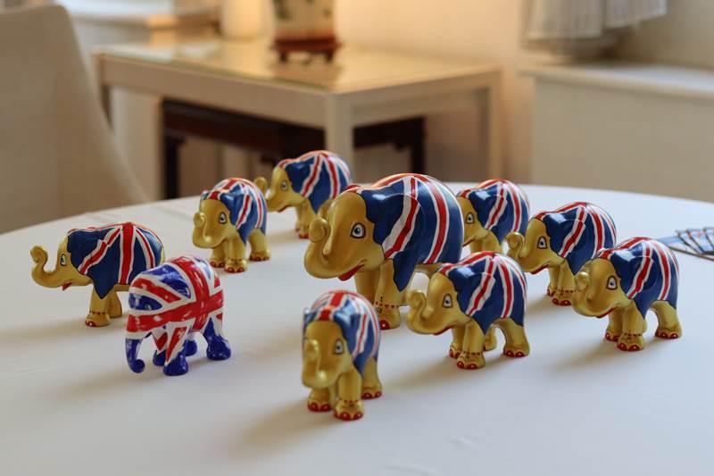 สถานเอกอัครราชทูตอังกฤษ รณรงค์ต่อต้านการค้างาช้าง