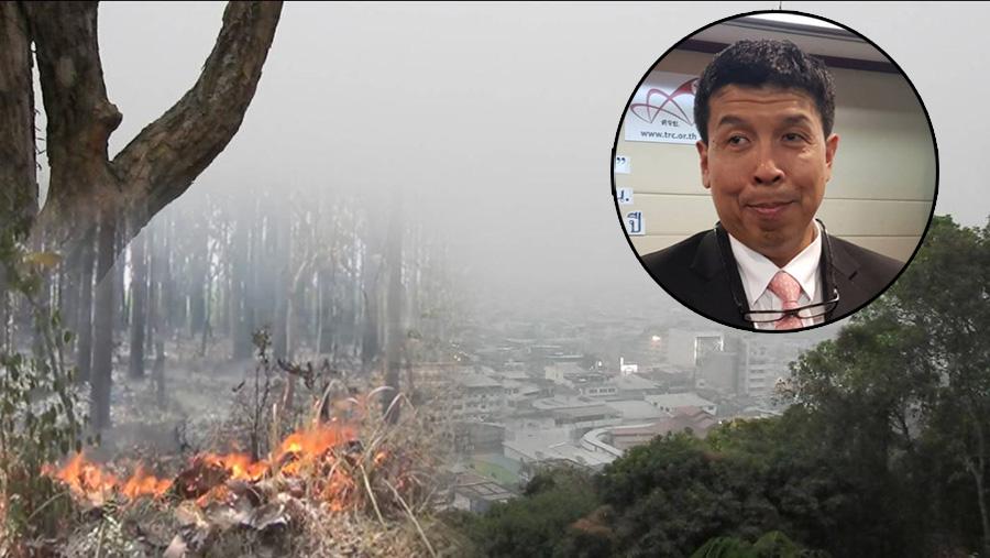 หมอปอด เผยยังไม่มีข้อมูลฝุ่น PM 2.5 จากเผาป่า-เครื่องยนต์ ก่อพิษสุขภาพต่างกันหรือไม่ ย้ำคนเหนือสวมหน้ากาก เลี่ยงออกจากบ้าน