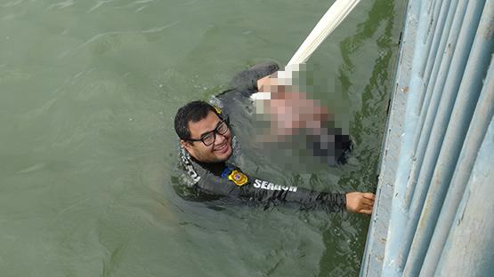 พี่ชายตามหาน้องชาย2วันพบอีกทีกลายเป็นศพลอยอยู่ในน้ำเจ้าพระยา