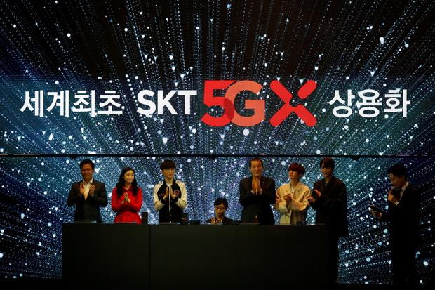 ล้ำต่อไม่รอใคร!!เกาหลีใต้เตรียมเปิดใช้เครือข่าย5Gเป็นชาติแรกของโลก