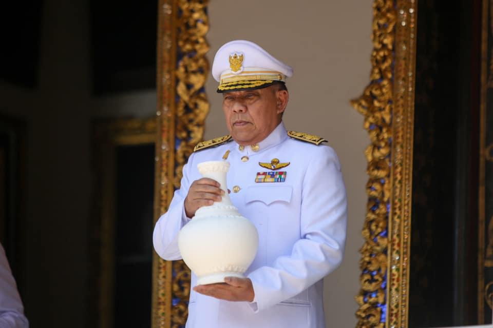 ผู้ว่าฯ กทม. ซ้อมริ้วขบวนเชิญคนโทน้ำศักดิ์สิทธิ์ จากหอศาสตราคม ในพระบรมมหาราชวัง ไปยังกระทรวงมหาดไทย ระยะทาง 1 กม.