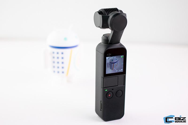 Review : DJI Osmo Pocket พกง่าย ถ่ายวิดีโอสนุก