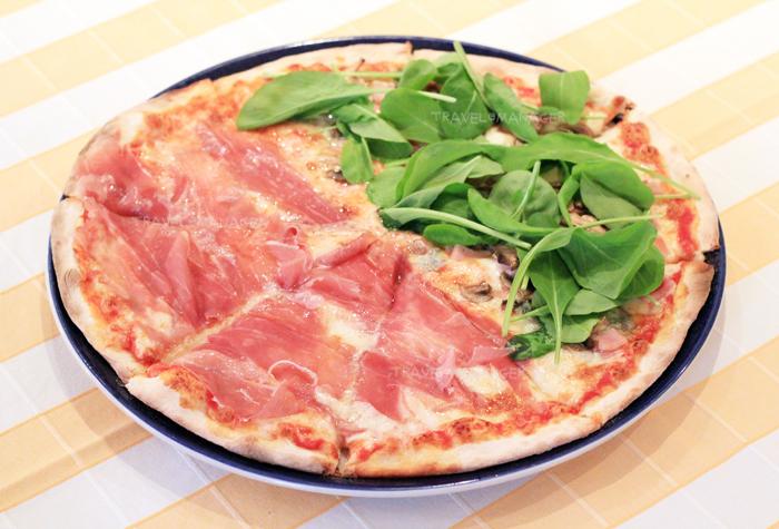 Pizza หน้า Zanotti และ Limoncello
