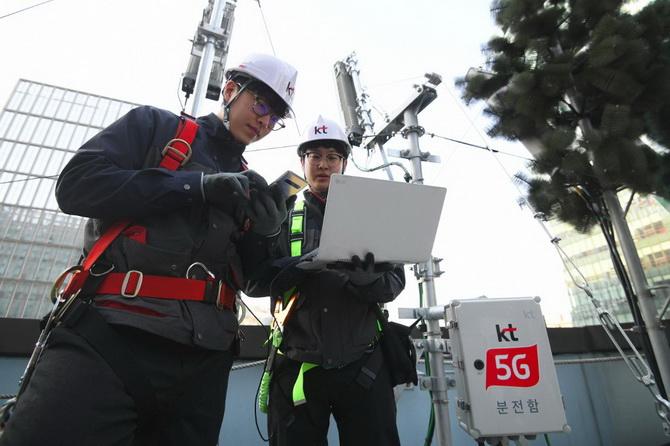 3บริษัทเกาหลีใต้ตัดหน้า'เวริซอน' ชิงเปิดให้บริการ5จีปท.แรกในโลก