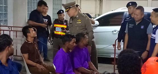 ปิดล้อมตรวจค้น จับชาวต่างชาติอยู่ในไทยโดยผิดกฎหมาย 473 ราย