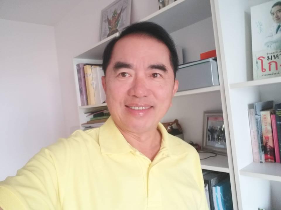 นพ.วรงค์ เดชกิจวิกรม อดีต ส.ส.พรรคประชาธิปัตย์ (ภาพจากเฟซบุ๊กแฟนเพจ Warong Dechgitvigrom)