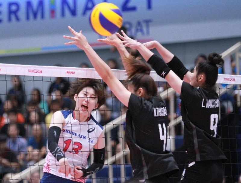 ตบสาวไทย เฉือน เกาหลี 3-2 เปิดศึกซูเปอร์แมตซ์ 2019